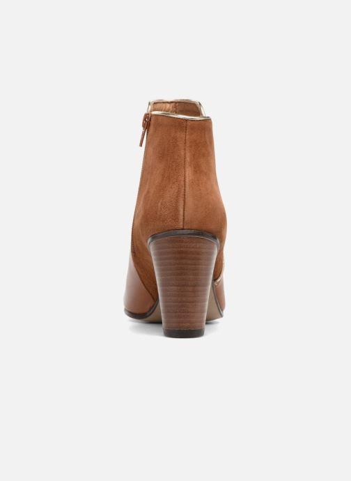 Bottines et boots Georgia Rose EOLIA Marron vue droite