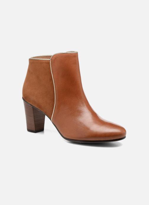 Bottines et boots Georgia Rose EOLIA Marron vue détail/paire