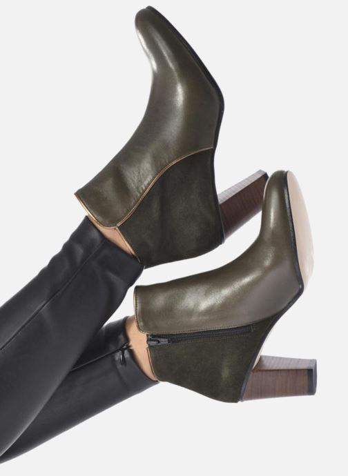 Boots en enkellaarsjes Georgia Rose EOLIA Zwart onder