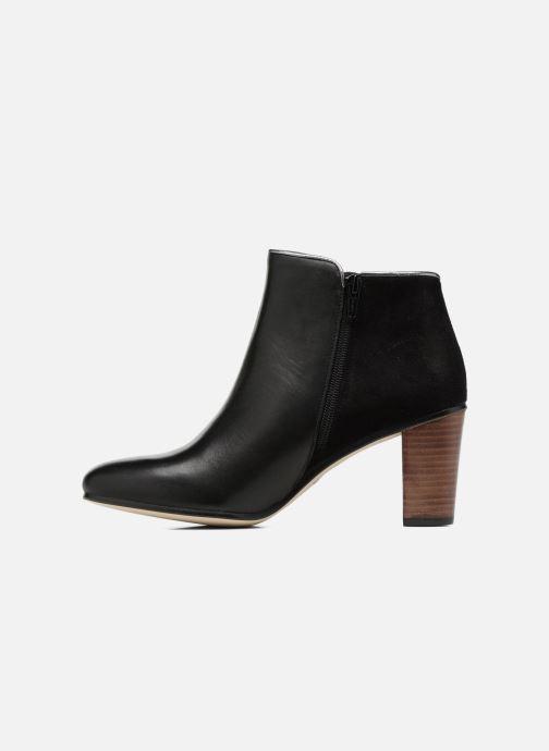 Boots en enkellaarsjes Georgia Rose EOLIA Zwart voorkant