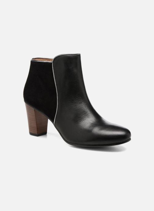 Boots en enkellaarsjes Georgia Rose EOLIA Zwart detail