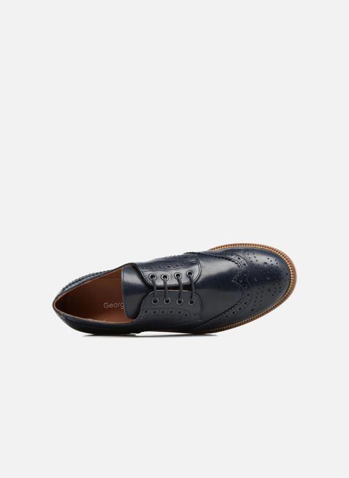 Chaussures à lacets Georgia Rose EMY Bleu vue gauche