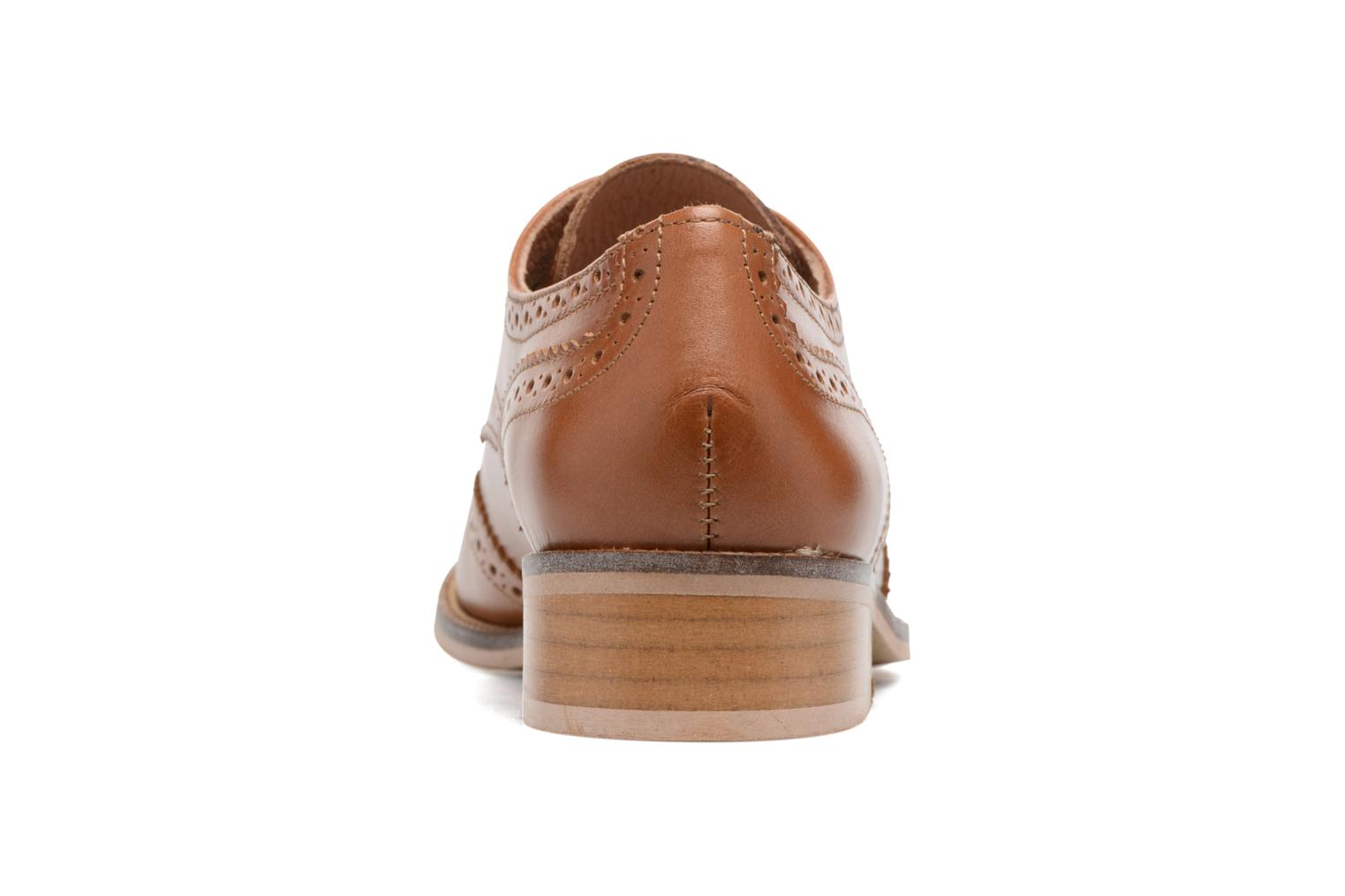 Lace-up shoes Georgia Rose EMY Brown view from the right
