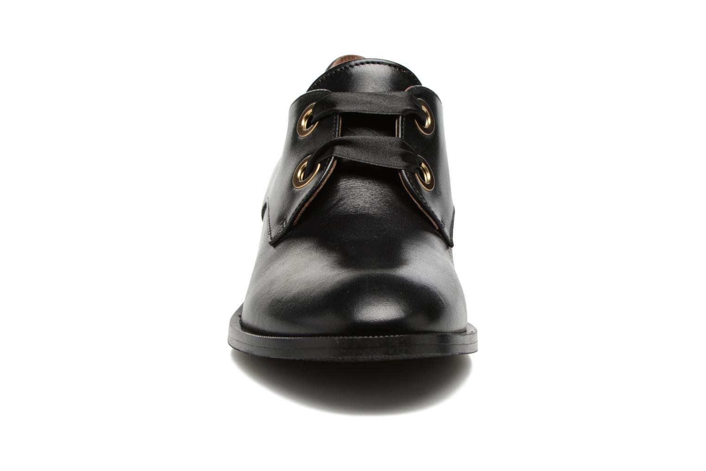 Chaussures à lacets Georgia Rose EVANA Noir vue portées chaussures