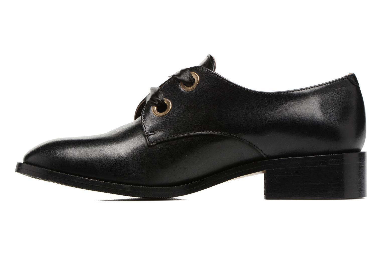 Chaussures à lacets Georgia Rose EVANA Noir vue face