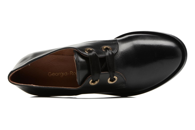 Chaussures à lacets Georgia Rose EVANA Noir vue gauche