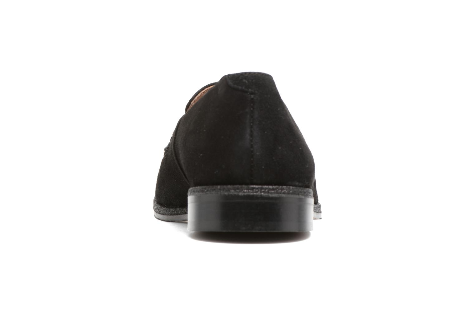 Loafers Georgia Rose ESTELLA Black view from the right