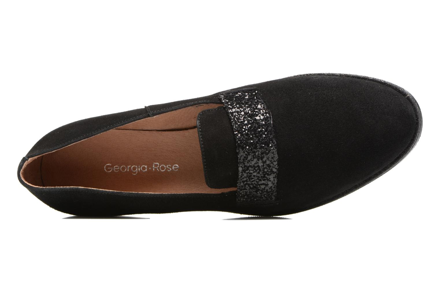 Loafers Georgia Rose ESTELLA Black view from the left