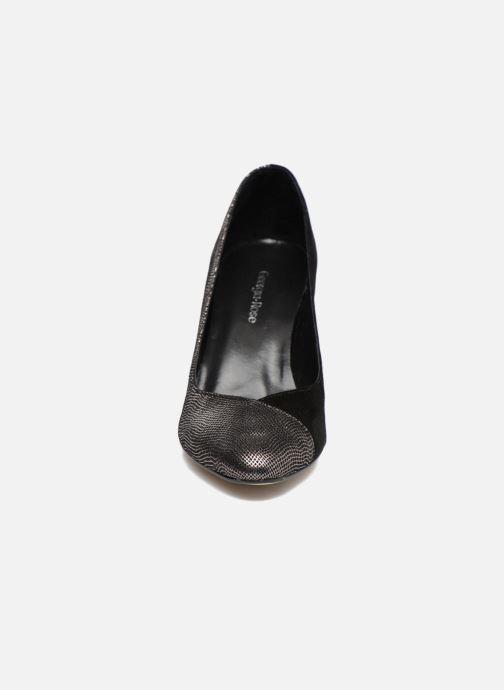 Escarpins Georgia Rose ECLAT Argent vue portées chaussures