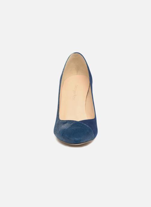 Zapatos de tacón Georgia Rose ECLAT Azul vista del modelo