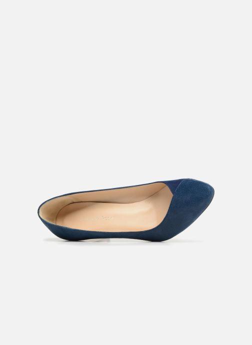Zapatos de tacón Georgia Rose ECLAT Azul vista lateral izquierda