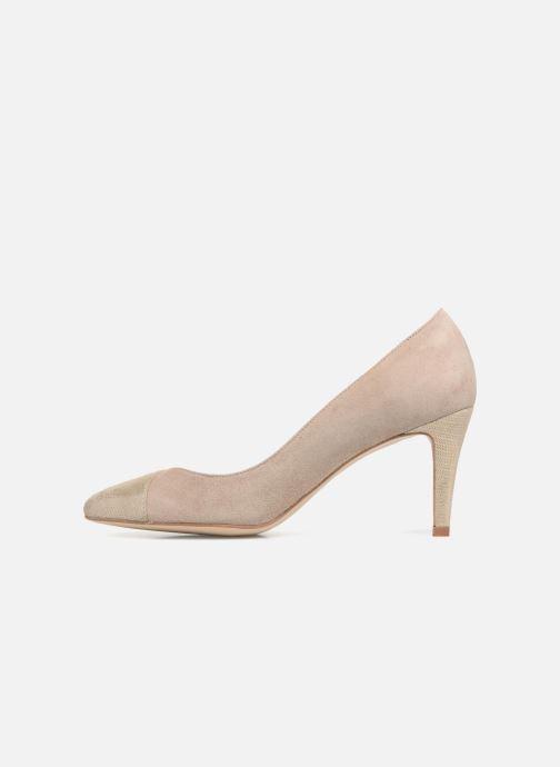 High heels Georgia Rose ECLAT Beige front view