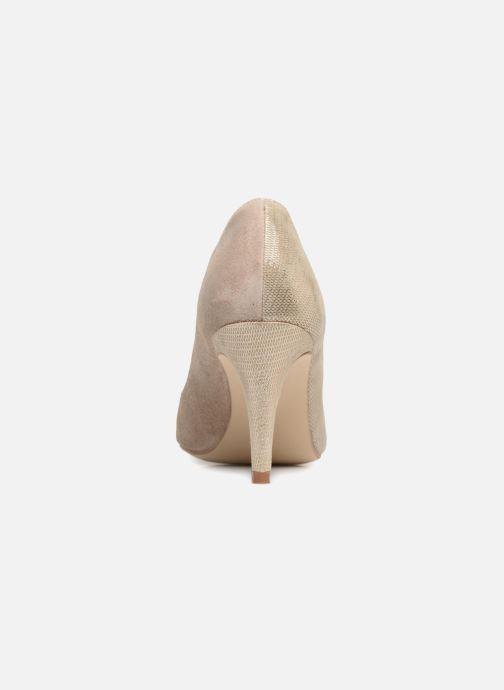 Zapatos de tacón Georgia Rose ECLAT Beige vista lateral derecha