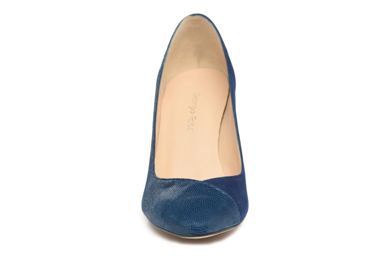 Escarpins Georgia Rose ECLAT Bleu vue portées chaussures