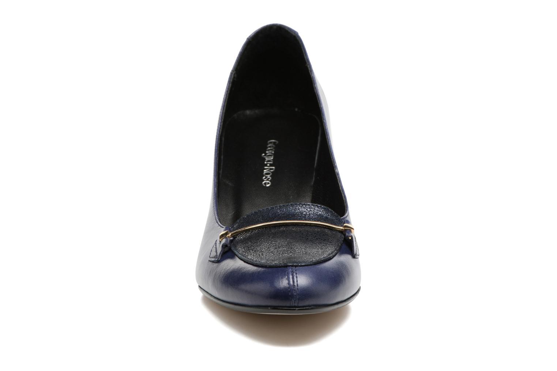 Escarpins Georgia Rose ESMA Bleu vue portées chaussures