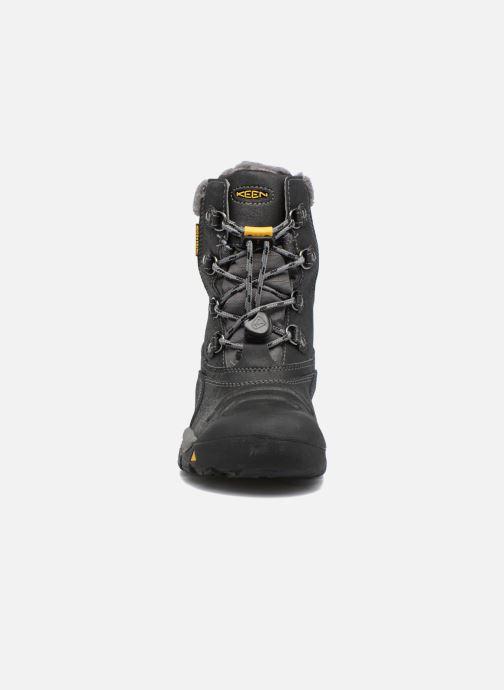 Zapatillas de deporte Keen Basin WP Negro vista del modelo