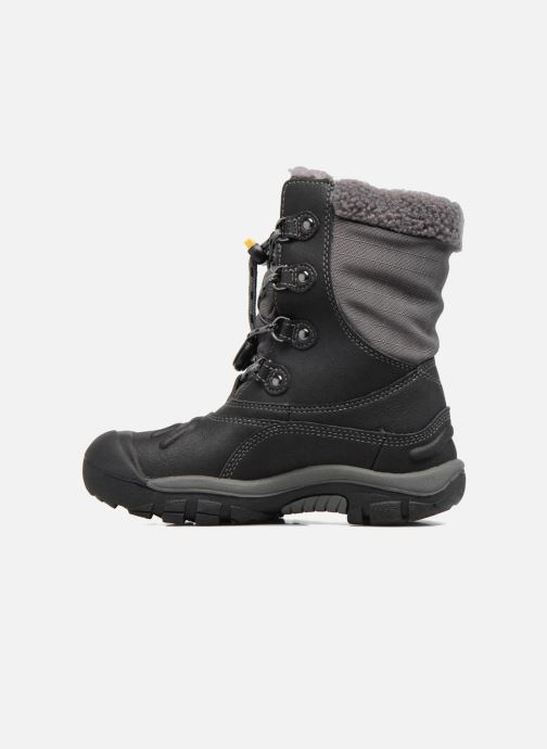Zapatillas de deporte Keen Basin WP Negro vista de frente