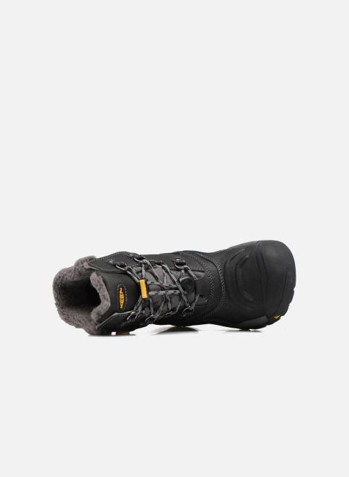 Zapatillas de deporte Keen Basin WP Negro vista lateral izquierda