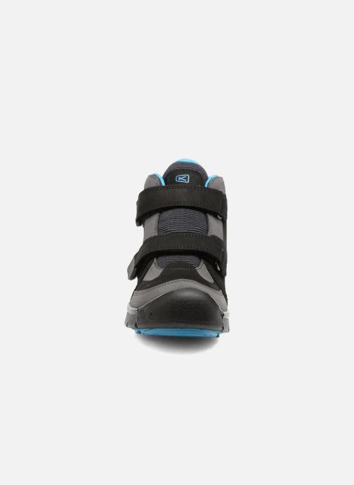 Sportskor Keen Hikeport Mid Strap Svart bild av skorna på