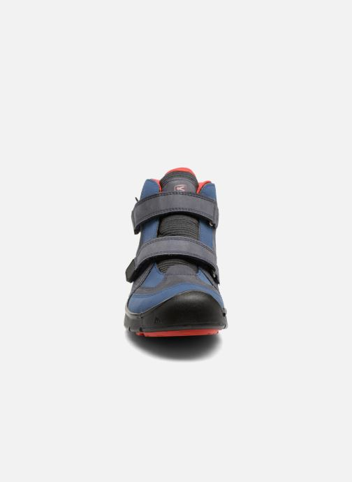 Sportschuhe Keen Hikeport Mid Strap blau schuhe getragen