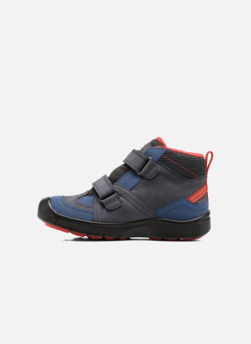 Chaussures de sport Keen Hikeport Mid Strap Bleu vue face