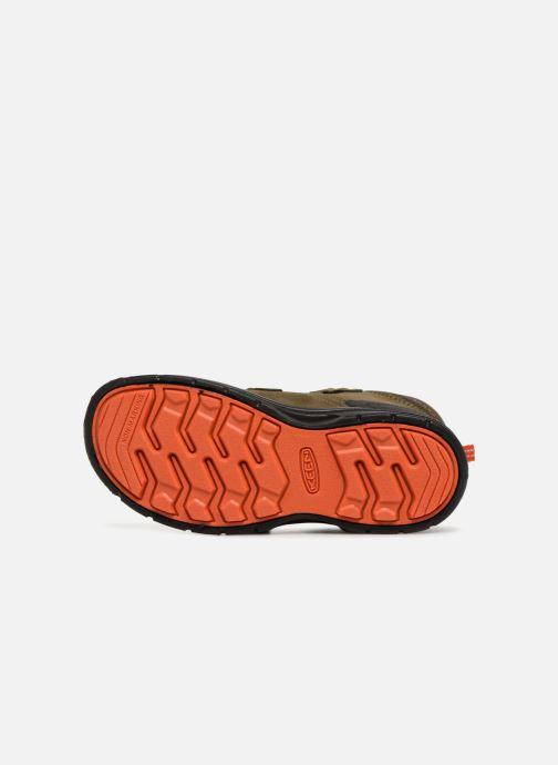 Chaussures de sport Keen Hikeport Mid Strap Marron vue haut