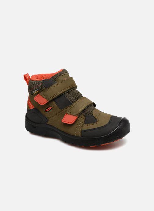 Chaussures de sport Keen Hikeport Mid Strap Marron vue détail/paire