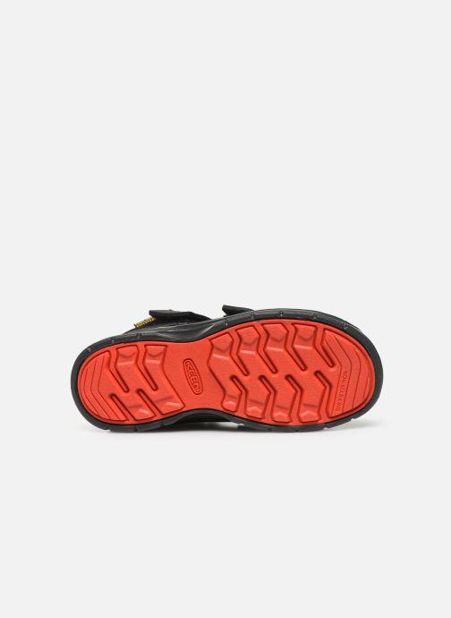 Zapatillas de deporte Keen Hikeport Mid Strap Negro vista de arriba