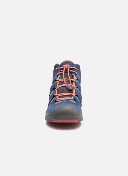 Chaussures de sport Keen Hikeport Mid youth Bleu vue portées chaussures