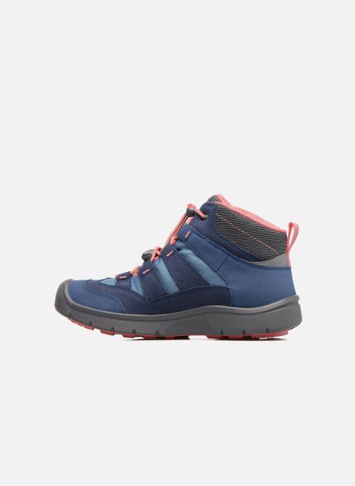 Zapatillas de deporte Keen Hikeport Mid youth Azul vista de frente