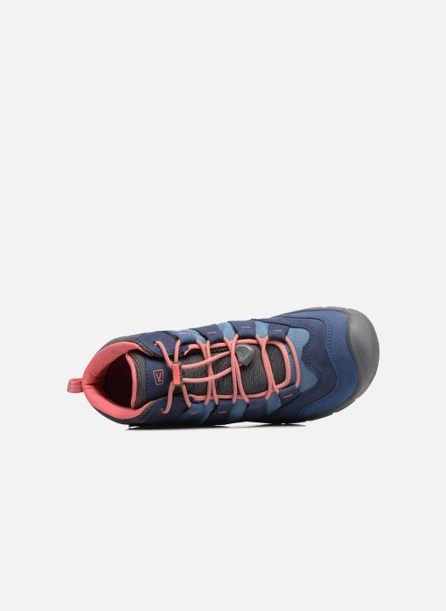 Zapatillas de deporte Keen Hikeport Mid youth Azul vista lateral izquierda