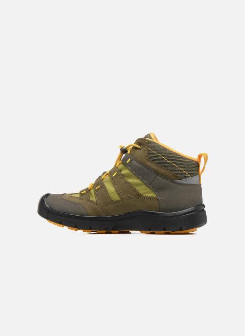 Zapatillas de deporte Keen Hikeport Mid youth Verde vista de frente