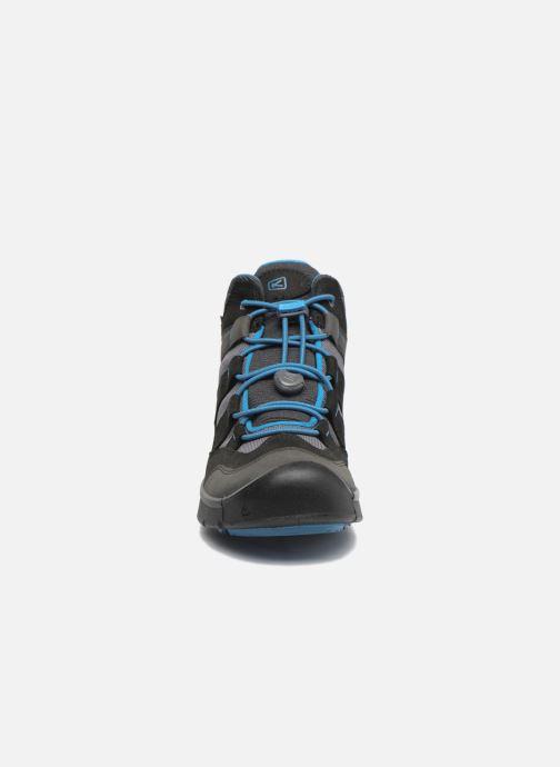 Chaussures de sport Keen Hikeport Mid youth Noir vue portées chaussures