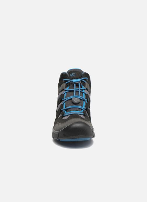 Zapatillas de deporte Keen Hikeport Mid youth Negro vista del modelo