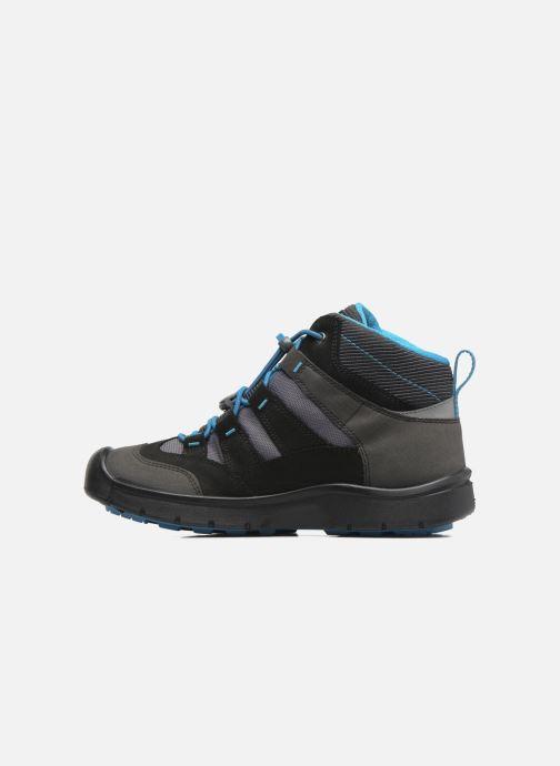 Zapatillas de deporte Keen Hikeport Mid youth Negro vista de frente
