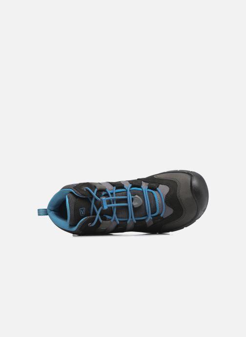 Zapatillas de deporte Keen Hikeport Mid youth Negro vista lateral izquierda
