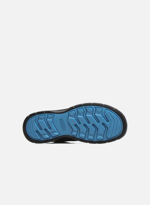 Chaussures de sport Keen Hikeport Mid youth Noir vue haut