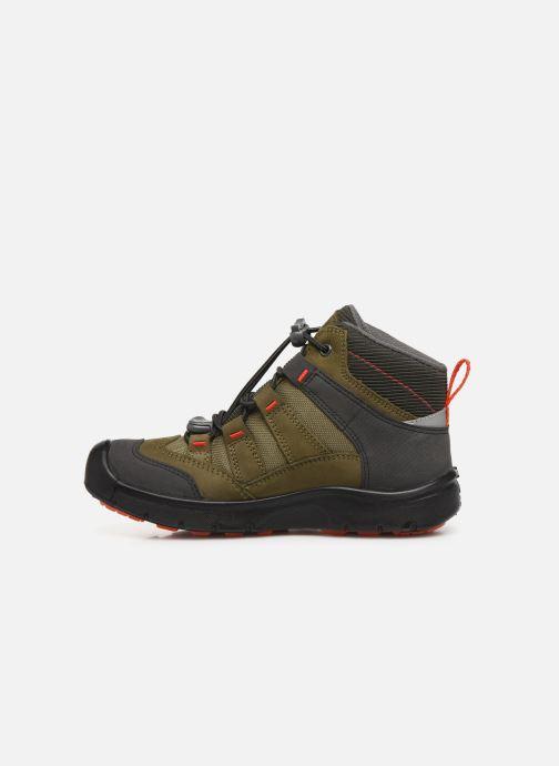 Chaussures de sport Keen Hikeport Mid youth Vert vue face