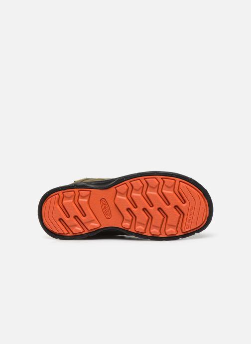 Chaussures de sport Keen Hikeport Mid youth Vert vue haut