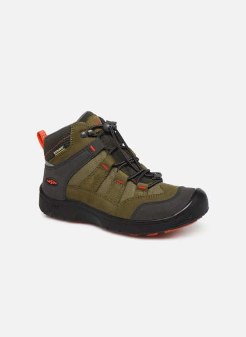 Zapatillas de deporte Keen Hikeport Mid youth Verde vista de detalle / par
