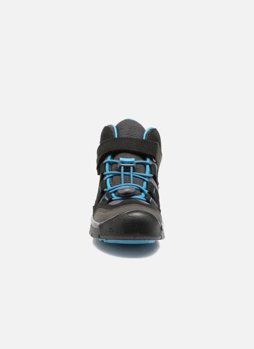 Zapatillas de deporte Keen Hikeport Mid children Negro vista del modelo