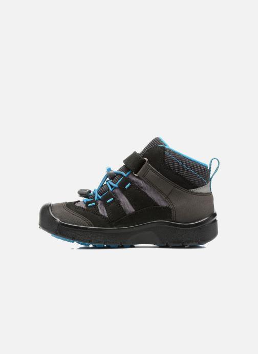 Zapatillas de deporte Keen Hikeport Mid children Negro vista de frente