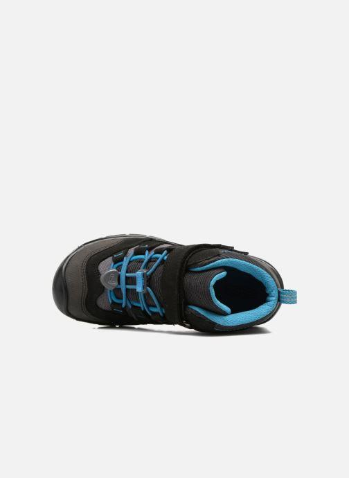 Zapatillas de deporte Keen Hikeport Mid children Negro vista lateral izquierda