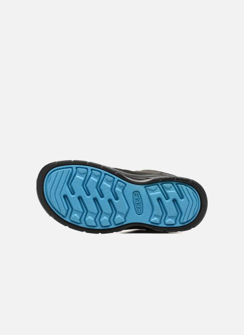 Chaussures de sport Keen Hikeport Mid children Noir vue haut