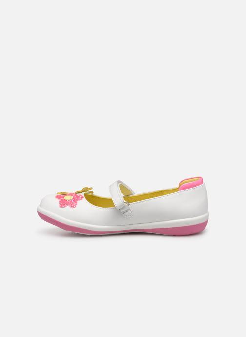Sneaker Agatha Ruiz de la Prada Butterfly weiß ansicht von vorne