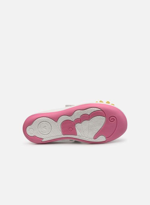 Sneaker Agatha Ruiz de la Prada Butterfly weiß ansicht von oben