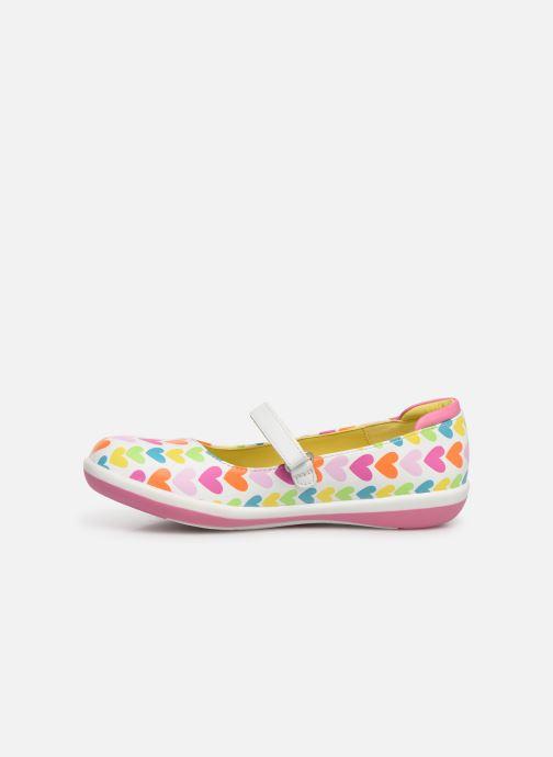 Sneaker Agatha Ruiz de la Prada Butterfly mehrfarbig ansicht von vorne