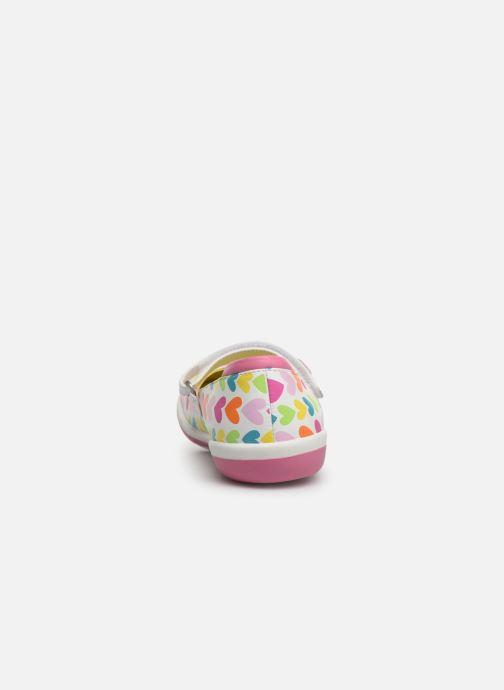 Baskets Agatha Ruiz de la Prada Butterfly Multicolore vue droite