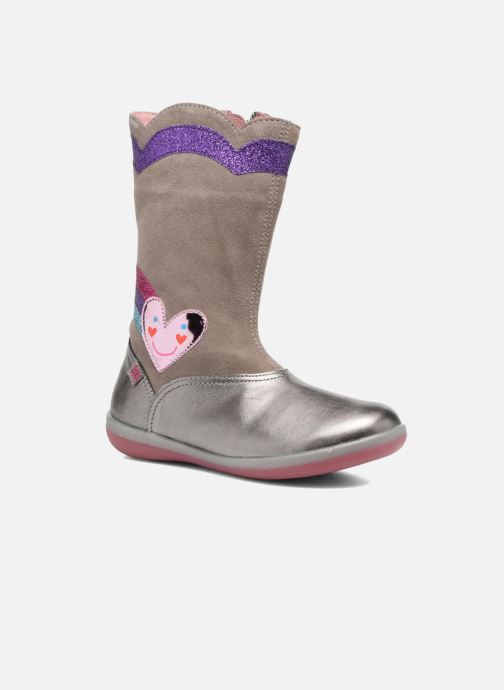 Boots & wellies Agatha Ruiz de la Prada Butterfly 2 Silver detailed view/ Pair view
