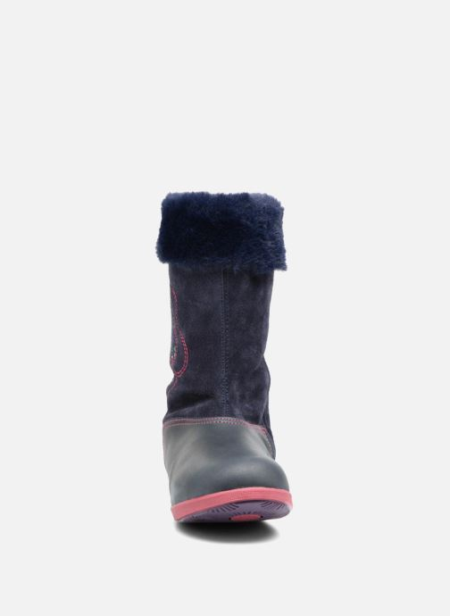 Bottes Agatha Ruiz de la Prada Swing 3 Bleu vue portées chaussures